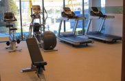 Фитнес-центр отеля Hampton by Hilton