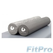 Poлик BALANCED BODY Swirlie Gray Roller (15 x 91 cм) в магазине FitPro