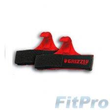 Ремни для тяги с крюком GRIZZLY Fitness Power Claws Lifting Hooks (пара) в магазине FitPro