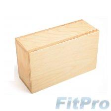 """Блок для йоги HUGGER MUGGER Wood 3.5"""" в магазине FitPro"""