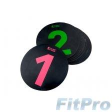 Фишки разметочные PURE Spots Trainer (10шт) в магазине FitPro