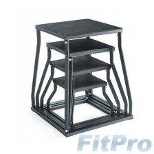 Набор плиометрических боксов GYMSTICK Pliobox ( 4 шт) в магазине FitPro