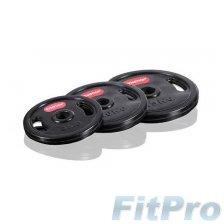 Диски олимпийские обрезиненные GYMSTICK Rubber Weight Plate в магазине FitPro