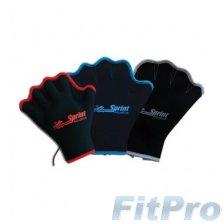 Перчатки для аква-аэробики (без пальцев) SPRINT AQUATICS Fingerless Force Gloves (пара) в магазине FitPro